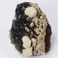 Fluorite With Baryte & Dolomite