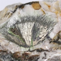 Millerite With Gaspéite