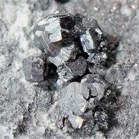 Pyrargyrite With Chalcopyrite