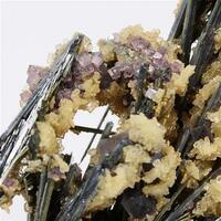 Stibnite With Fluorite & Baryte