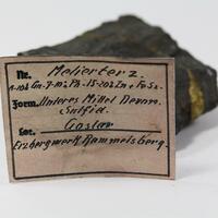 Chalcopyrite With Galena