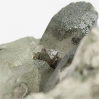 Anatase With Quartz & Chlorite