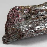 Stibnite With Cinnabar