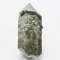 Rock Crystal With Hematite