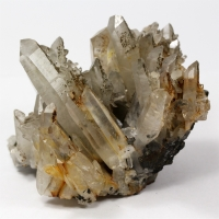 Rock Crystal With Pyrite