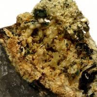 Phosphophyllite With Mitridatite