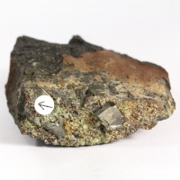 Gold With Pyrite & Chamosite