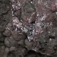 Proustite With Native Arsenic