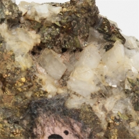 Chalcopyrite With Dolomite