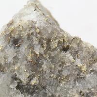 Gold Var Electrum With Pyrite & Quartz