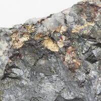 Native Silver With Chalcocite & Quartz