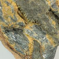 Stibnite With Stibiconite & Quartz