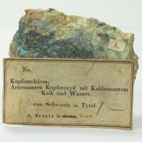 Tyrolite With Azurite