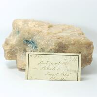 Petalite With Elbaite Var Indicolite