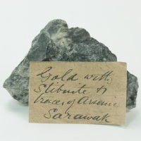 Gold With Stibnite