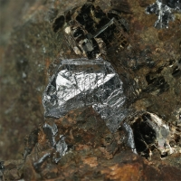 Molybdenite With Mica