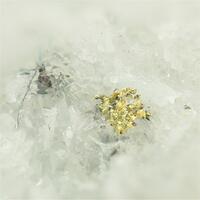 Gold With Quartz & Boulangerite & Pyrite & Rhodochrosite