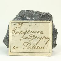 Hematite With Galena