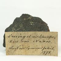 Corundum Var Emery With Pyrite