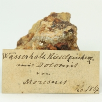 Hemimorphite With Dolomite