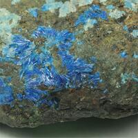 Linarite With Bornite & Chrysocolla