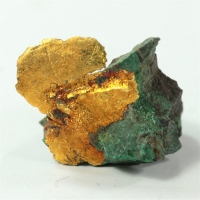 Gold With Chrysocolla