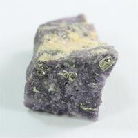 Calaverite With Fluorite