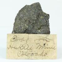 Chalcopyrite With Bornite & Galena & Sphalerite
