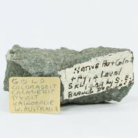 Gold With Coloradoite & Calaverite & Pyrite