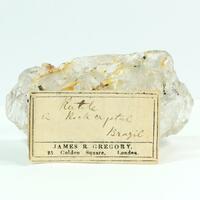Rutile In Rock Crystal