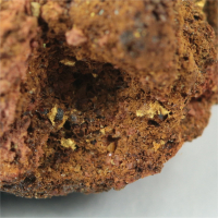 Gold With Uraninite
