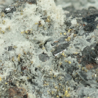Nagyágite With Gold