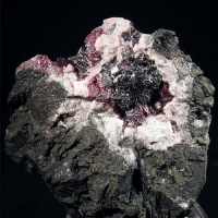 Polybasite With Proustite