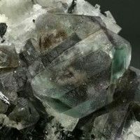 Fluorite Beryl Schorl & Muscovite