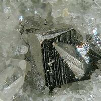 Ullmannite Sphalerite & Quartz
