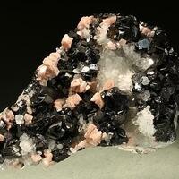 Rhodochrosite Sphalerite & Quartz