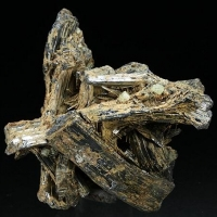 Native Sulphur Stibnite & Stibiconite