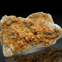 Wulfenite & Calcite