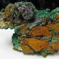 Copper With Malachite