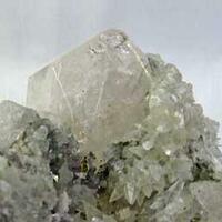 Danburite With Calcite