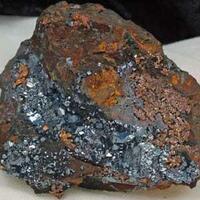 Delafossite With Cuprite & Copper