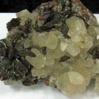 Descloizite & Calcite