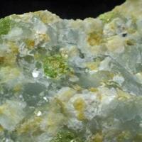 Ellestadite-(F) With Tobermorite & Grossular