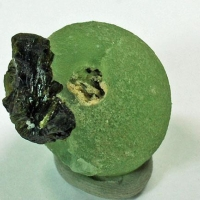 Epidote On Prehnite