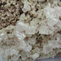 Halite On Burkeite