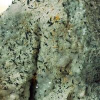 Sazhinite-(La) & Aegirine & Apophyllite