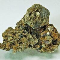 Zinnwaldite With Fluorite