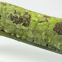 Native Sulphur On Stibiconite