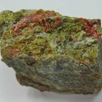 Philipsbornite & Crocoite
