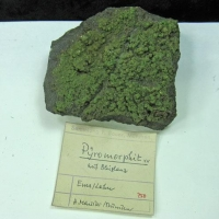 Pyromorphite On Galena
